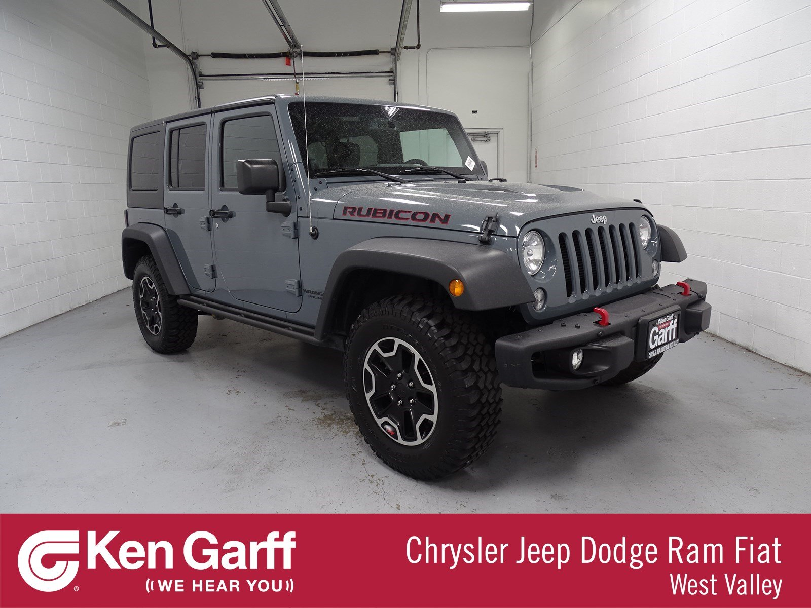 Certified Pre-Owned 2014 Jeep Wrangler Unlimited Rubicon X ...