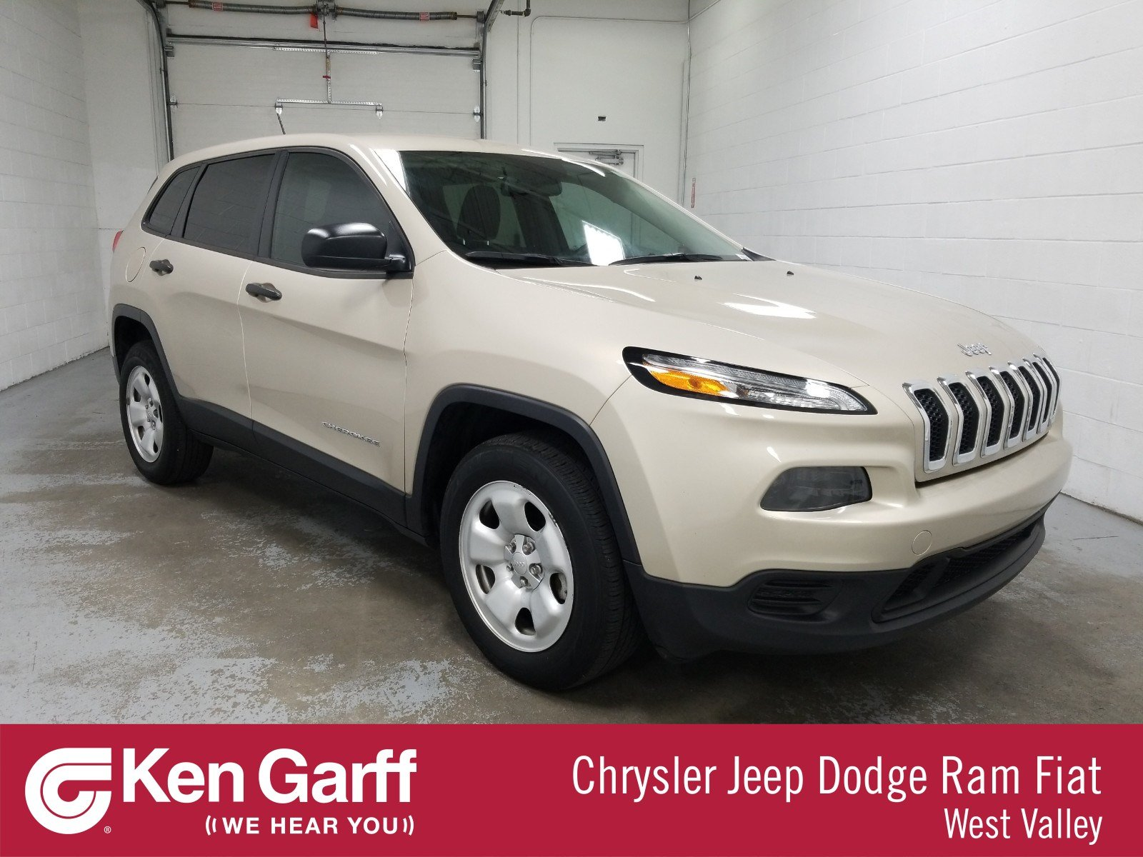 Certified Pre-Owned 2015 Jeep Cherokee Sport