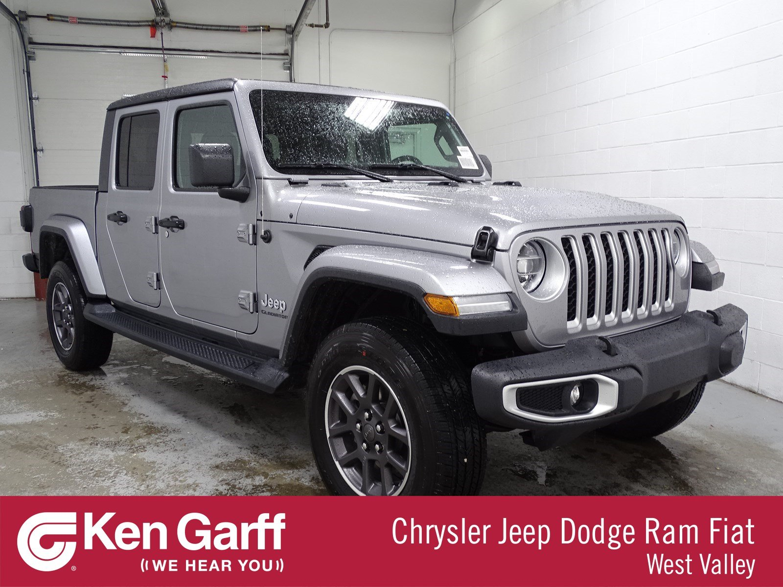 New 2020 Jeep Gladiator Overland Crew Cab In West Valley City