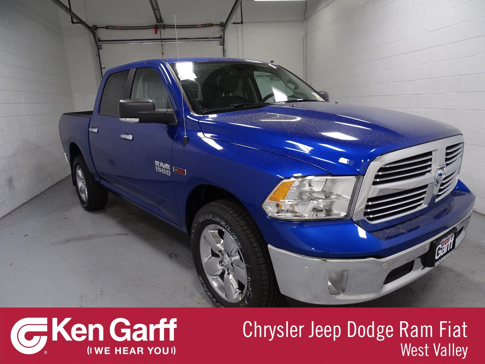 374d55cf6d New 2018 RAM 1500 Big Horn Crew Cab in West Valley City  1D81212 ...
