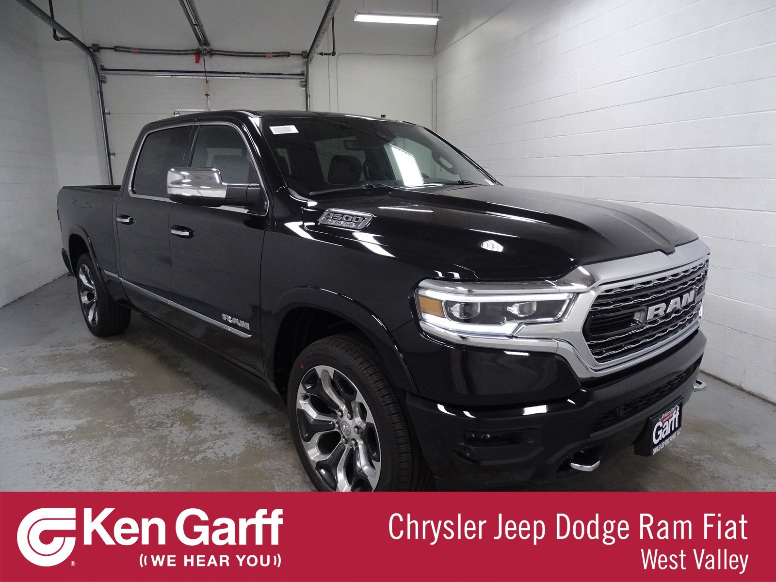 All New Dodge Ram Truck 2019 >> New 2019 Ram 1500 Limited Crew Cab 4x4 6 4 Box