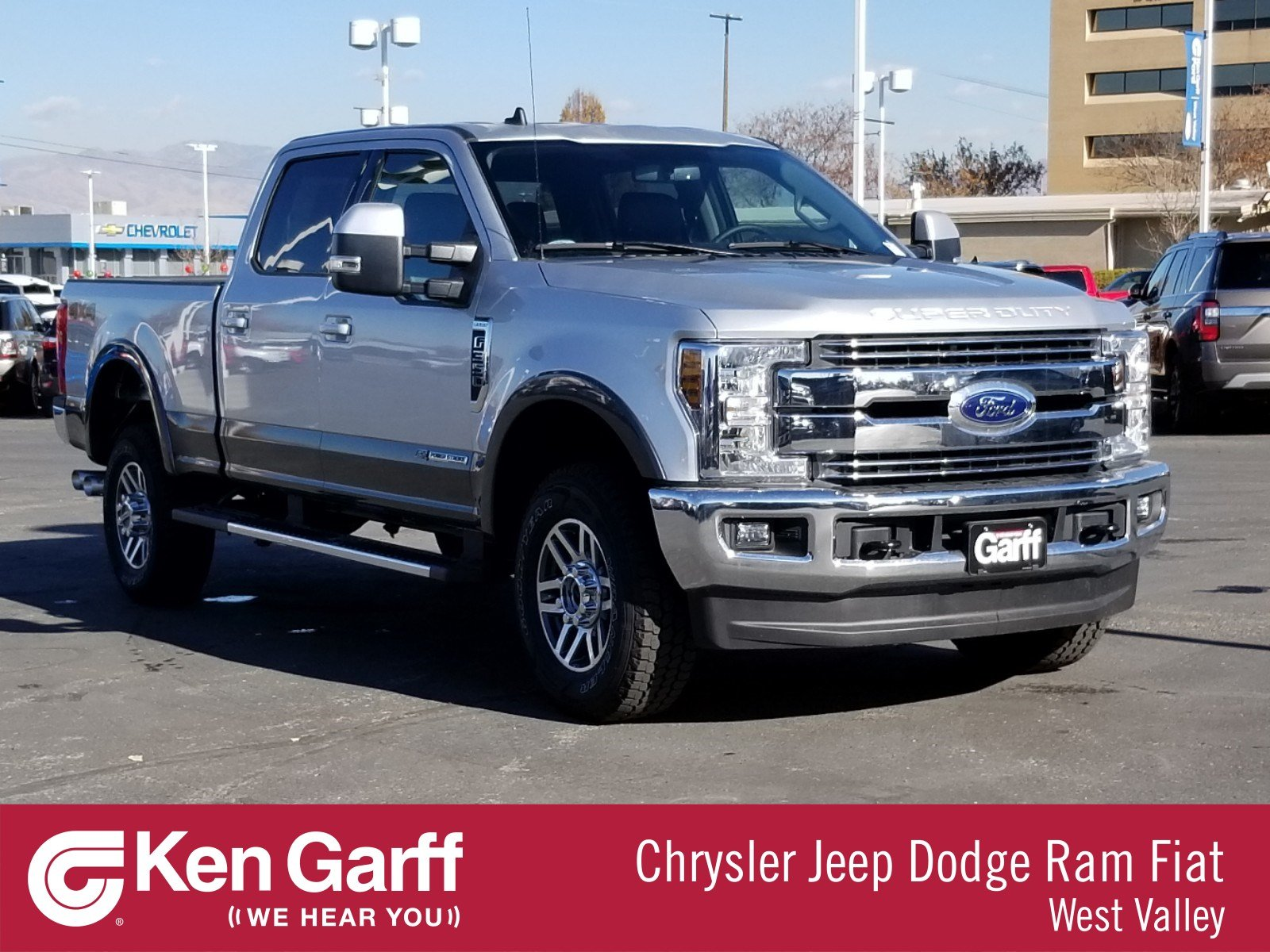 Pre-Owned 2019 Ford Super Duty F-350 SRW LARIAT 4WD CREW CAB 6.75' BOX