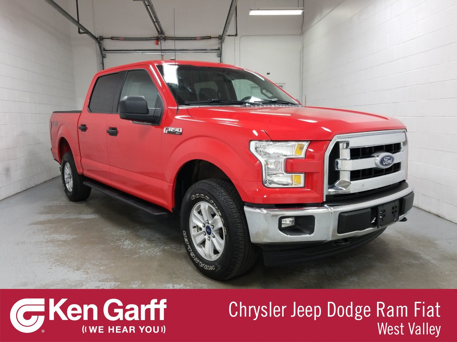 Pre-Owned 2017 Ford F-150 4WD SUPERCREW