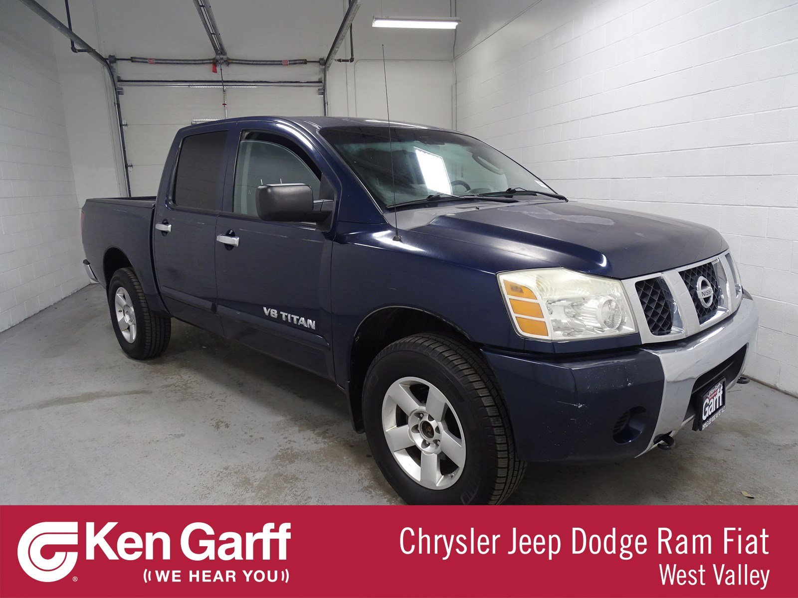 Pre Owned 2006 Nissan Titan Se Crew Cab Pickup In West Valley City