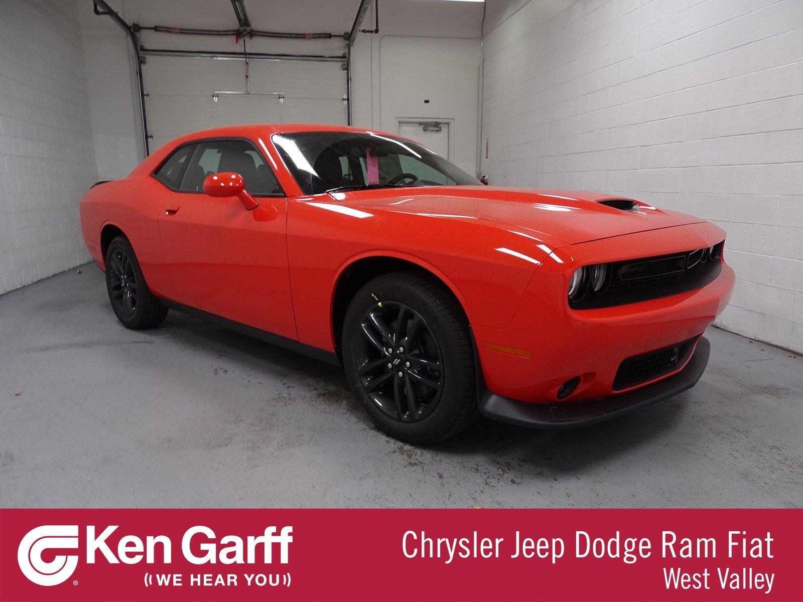 New 2019 Dodge Challenger Gt Coupe In West Valley City 1d90210