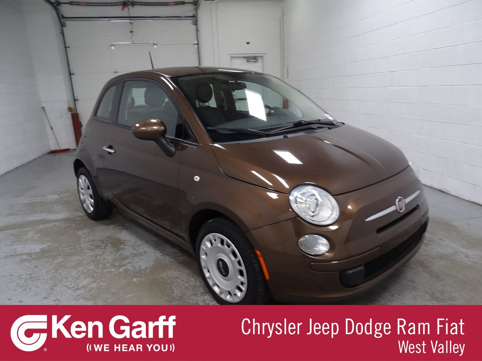 Certified Pre-Owned 2015 FIAT 500 Pop