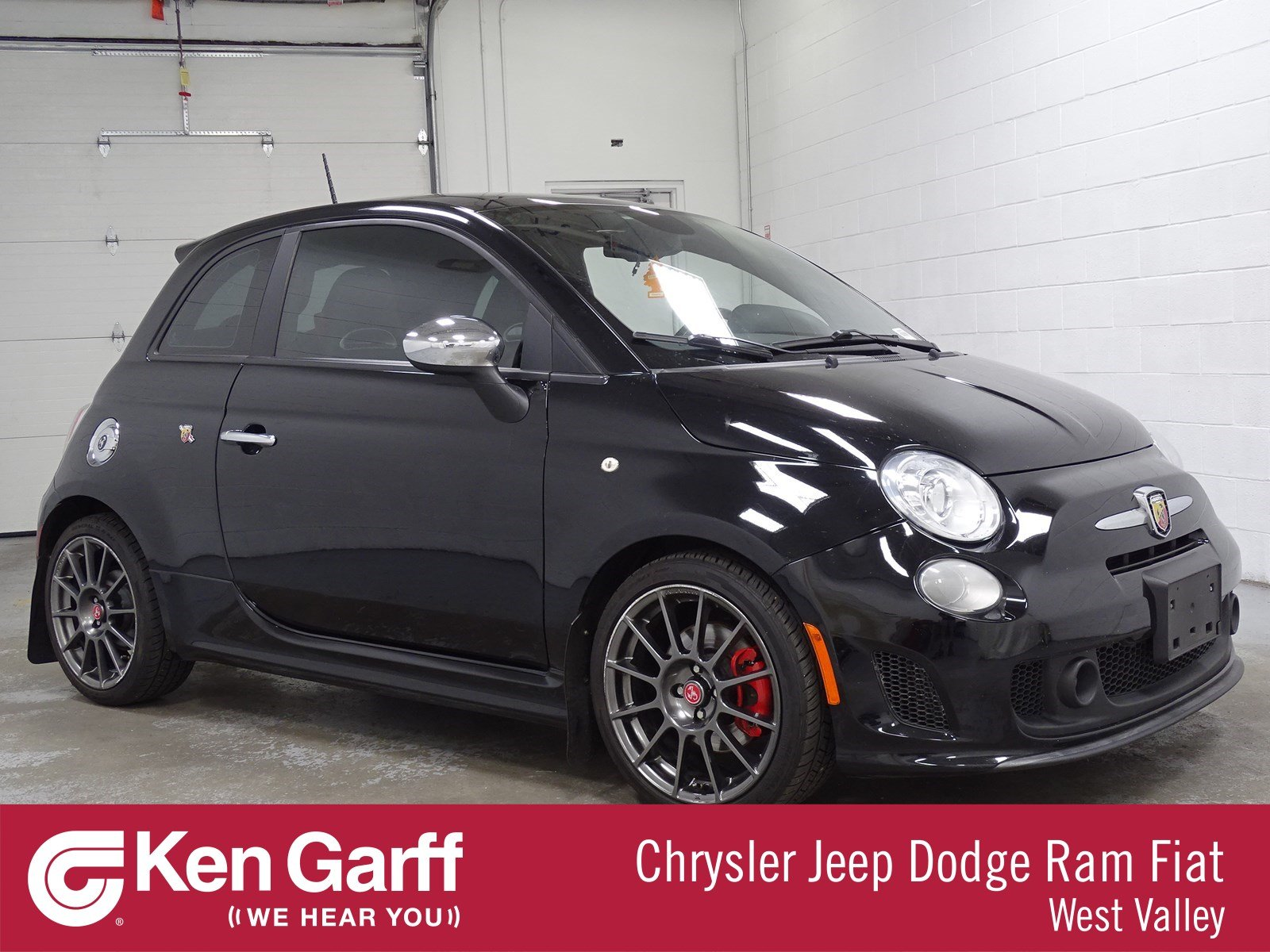Certified Pre-Owned 2015 FIAT 500 Abarth