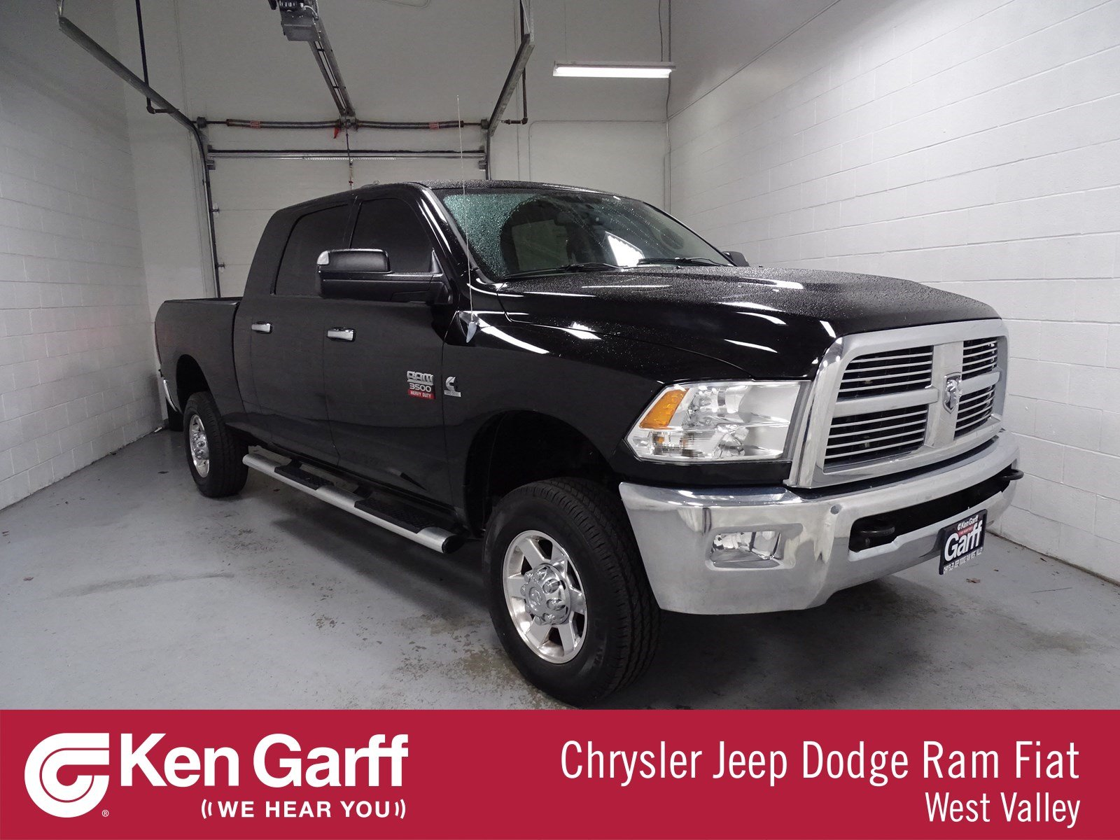 2012 saddle brown pearl dodge ram 3500 hd big horn crew cab dually.