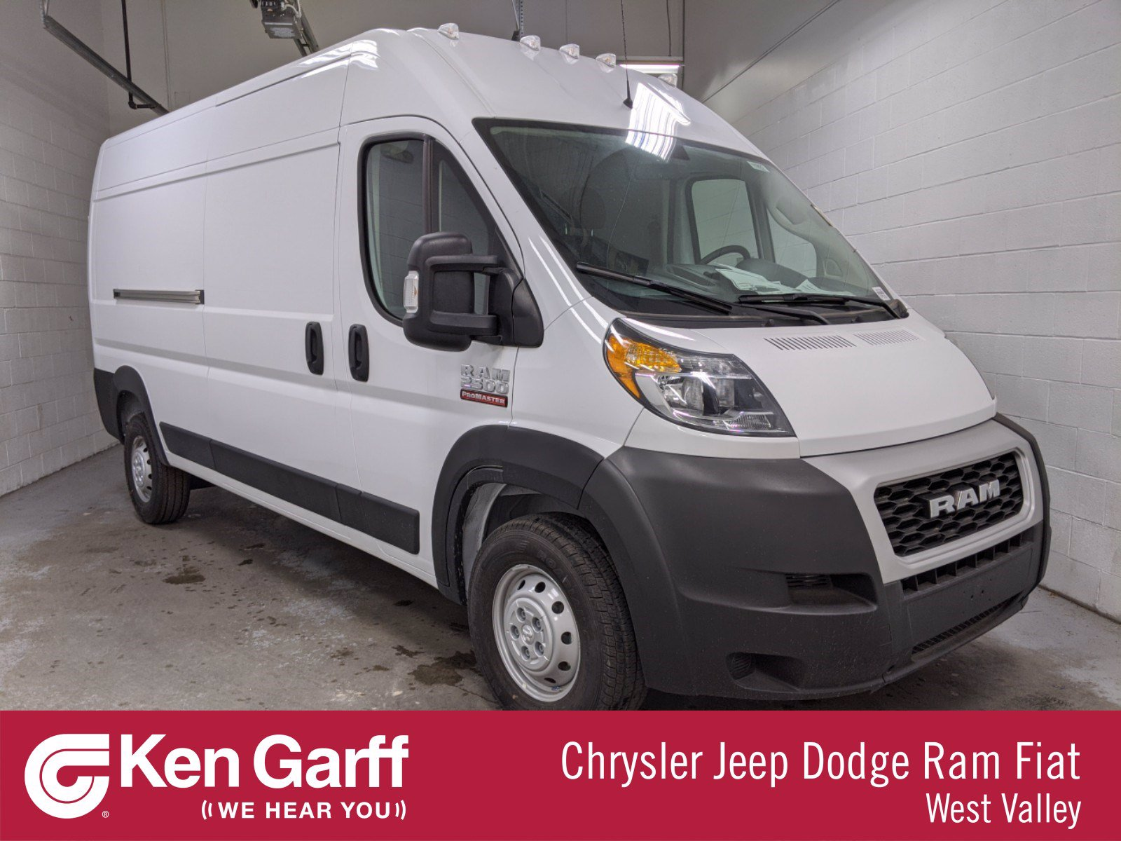 New 2020 RAM ProMaster CARGO VAN HIGH 159WB