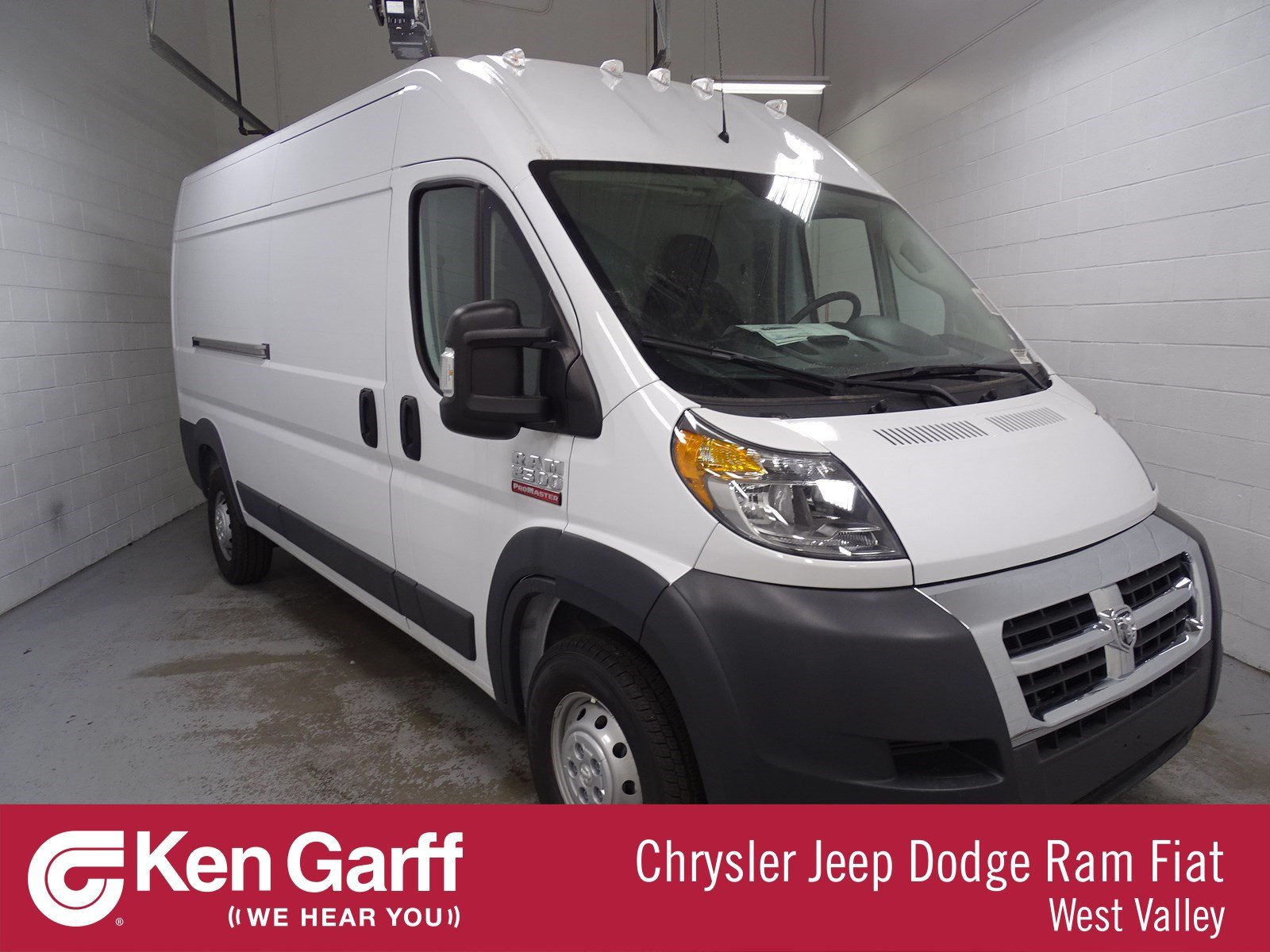 Dodge Ram Promaster >> New 2018 Ram Promaster High Roof Cargo Van In West Valley City