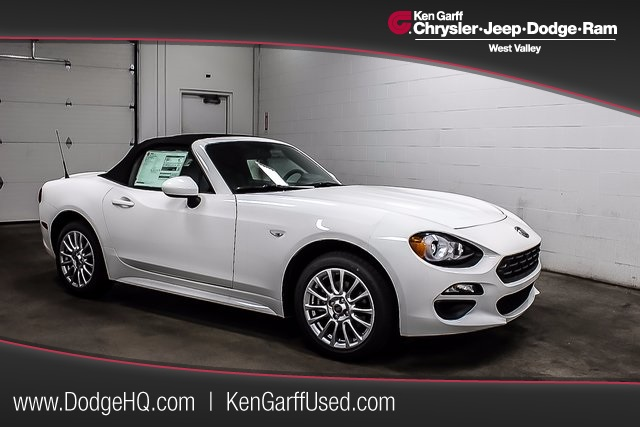 new 2017 fiat 124 spider classica convertible in west valley city 1t70063 ken garff west. Black Bedroom Furniture Sets. Home Design Ideas