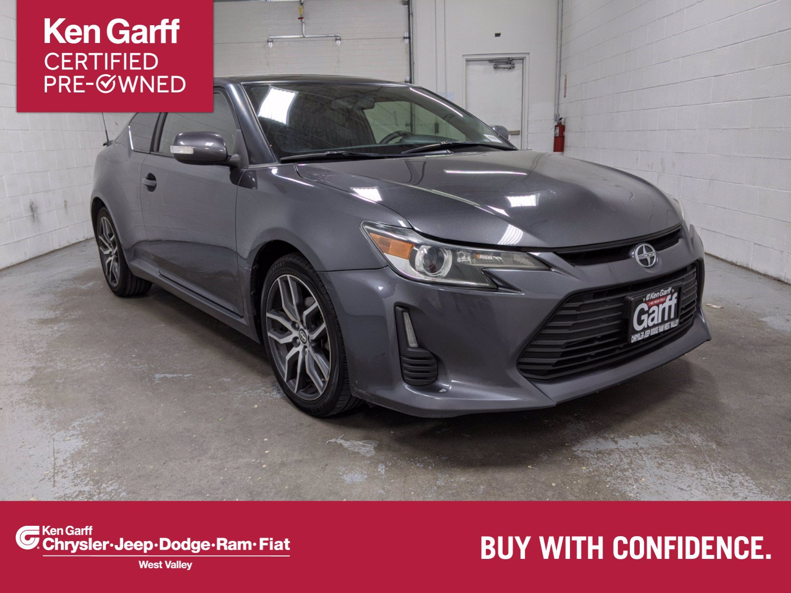 Pre-Owned 2015 Scion tC 2DR HB AT