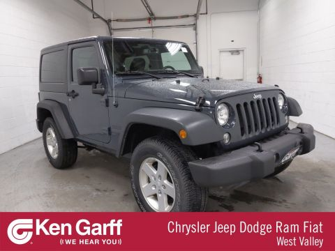Certified Pre-Owned 2016 Jeep Wrangler Sport