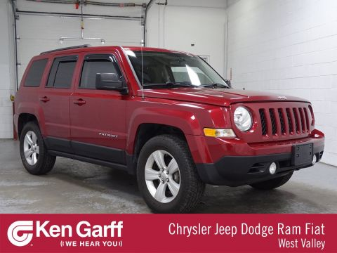 Certified Pre-Owned 2014 Jeep Patriot Latitude